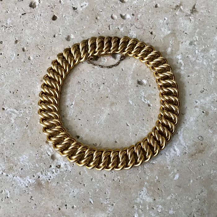 Murat Gold Plated Bracelet In Twisted Links Vintage 1960s Catawiki