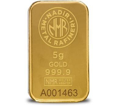 5 gramos - Oro .999 (24 quilates) - Nadir - Sello + certificado