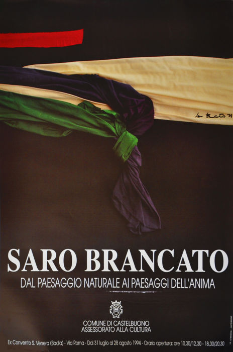 Saro Brancato - From the natural landscape to the landscapes of the soul - 1994
