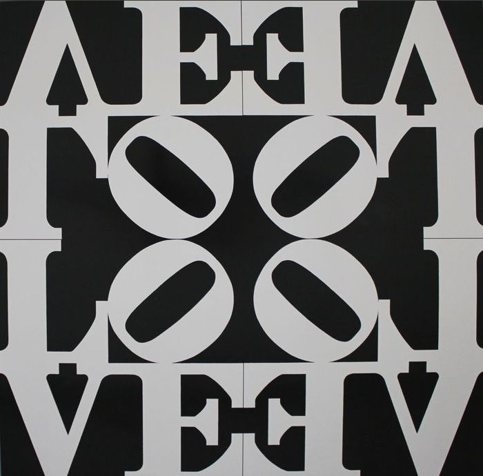 Robert Indiana - Love Rising