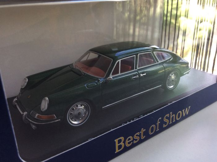 Other - Other - BoS Models - Scale 1/43 - Porsche 911 S - Troutman & Barnes - Green