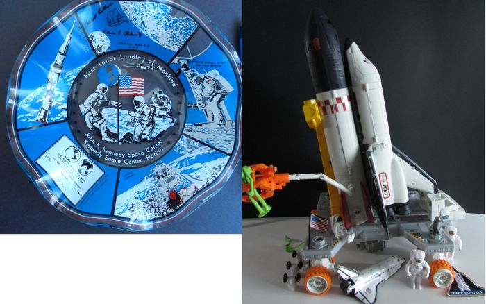 Matchbox Navette space shuttle , Ashtray very rare first ...