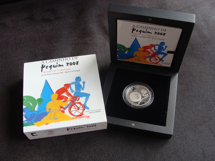 "Portugal - 2½ Euro 2008 ""Olympische Zomerspelen Peking"" - Silver"