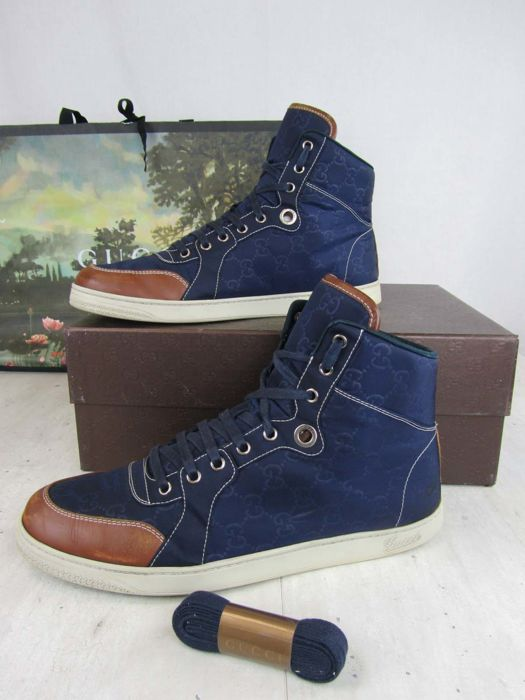 09e41974510 GUCCI - GG Guccissima High-top Sneaker - Catawiki