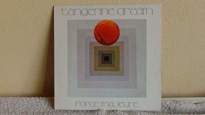 4 x LP Tangerine Dream : Stratosfear 1976 / Cyclone 1978