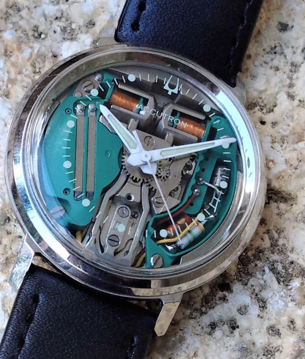 Bulova - Accutron Spaceview M4 - 214 - Heren - 1960-1969