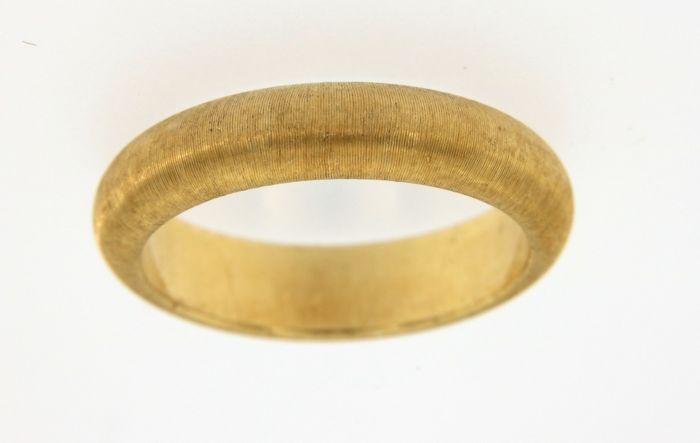 Buccellati - Spectacular wedding ring in 18 kt (750/1000) yellow gold, made in Italy - Weight: 4.9 g - Size: 9 (IT)