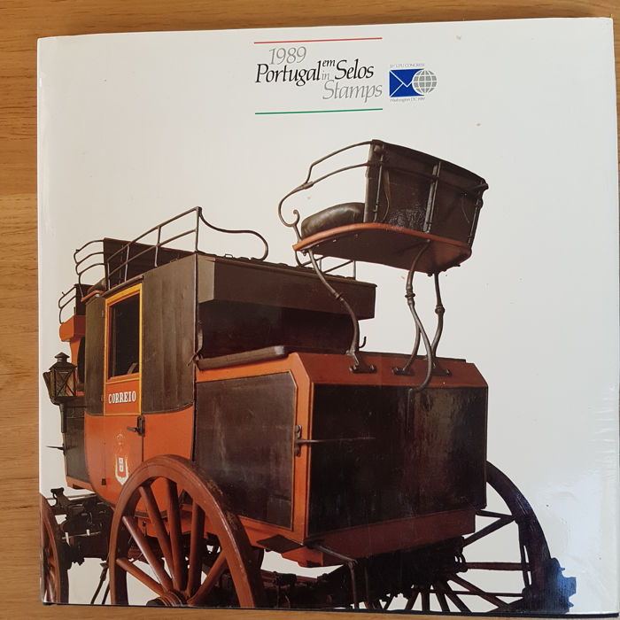 Portugal 1989 - Yearbook CTT special edition (E 001393)