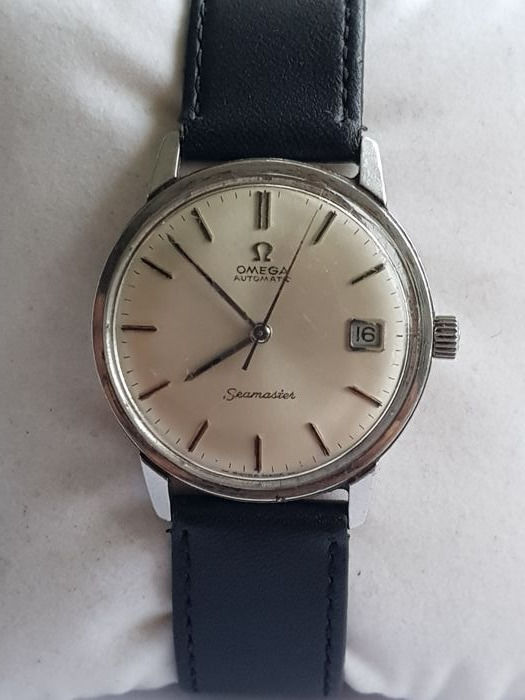 Omega - Seamaster Automatic, Date, Cal.562 - Réf. 166.002 - Mænd - 1960-1969