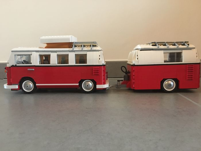 moc lego vw bus t1 exclusive caravan made with. Black Bedroom Furniture Sets. Home Design Ideas