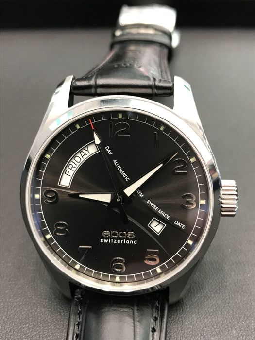 Epos - Passion 3402 Day Date Automatic 43MM - 3402/F-D/D-BLK - Heren - 2011-heden