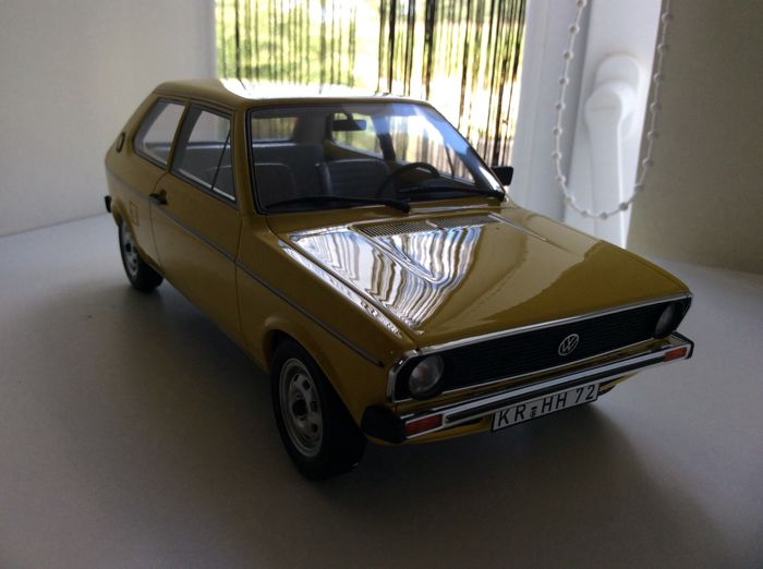 Other - Other - Bos Models - Scale 1/43 - VW Polo 1  - Yellow