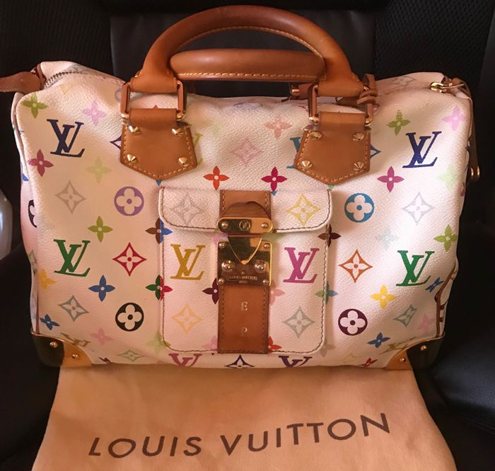 Louis Vuitton - Speedy 30 Multicolor Handtas