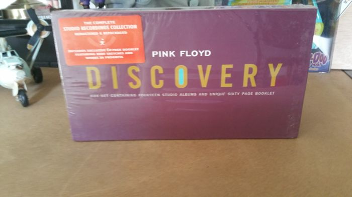Pink Floyd - 14 Remasterd Studio Album 14CD Discovery Box Set