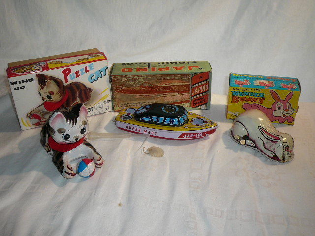 Collection -Tin Toys from Japan - Japind und Yone