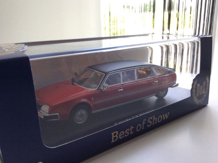 Other - Other - BoS Models - Scale 1/43 - Citroen CX Nilsson - Red