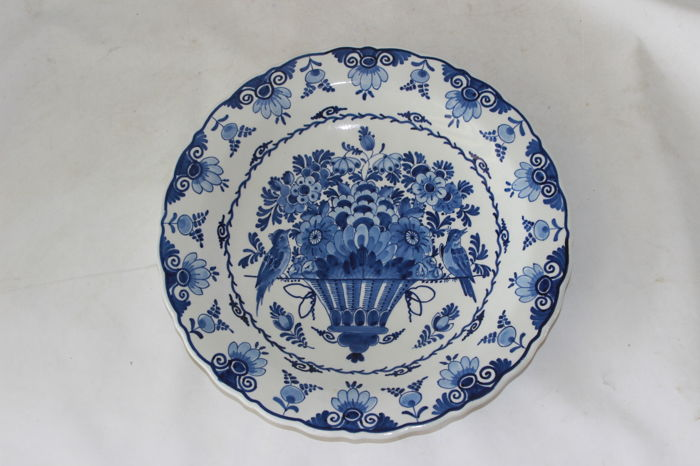 De Porceleyne Fles - Earthenware wall plate