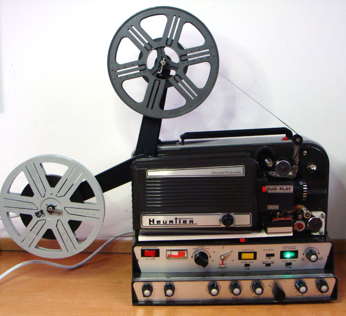 Well-made HEURTIER DUO-PLAY Super 8mm film projector - Catawiki