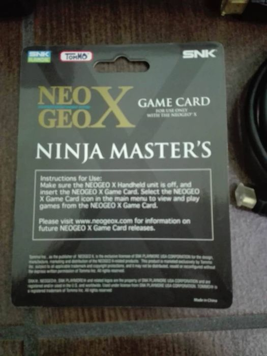 Neo Geo X Gold Limited Edition + Ninja Masters +Jailbreak 130 Neo Geo Games  pre installed + over 100 games of other consoles - Catawiki