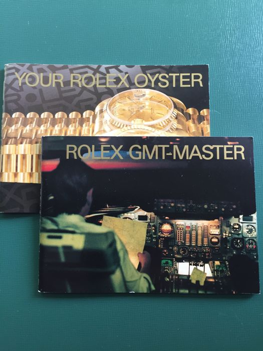 Rolex - Lot of 2 ROLEX GMT-MASTER BOOKLET + YOUR ROLEX OYSTER BOOKL - Unisex - 1990-1999