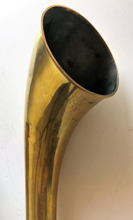 Ear trumpet, hearing aid, ear trumpet, extendable in 2