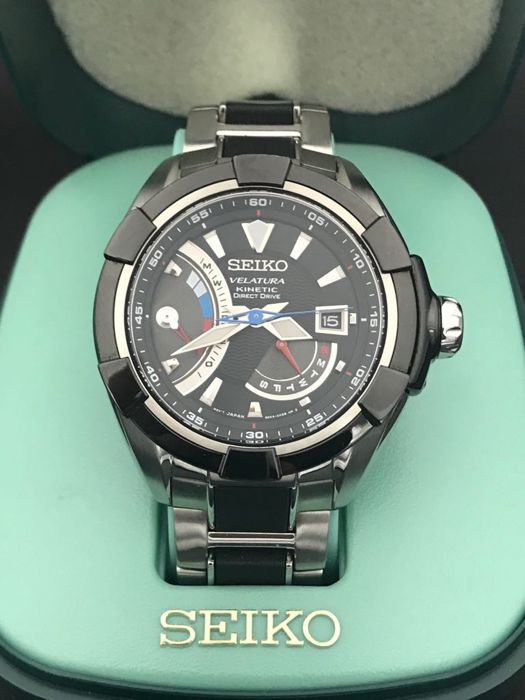 Seiko - Velatura Kinetic Direct Drive - New - SRH021P - Men - 2011-present