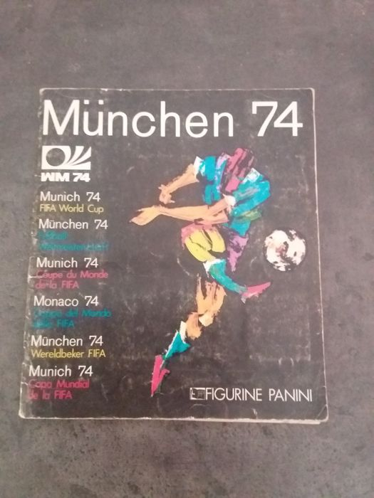 Panini - FIFA World cup Munich 1974 - Complete album