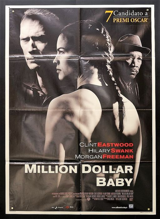 Cinema Poster For Clint Eastwood S Million Dollar Baby Catawiki