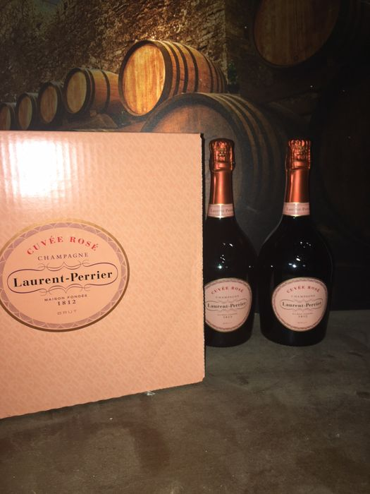 Champagne Laurent Perrier Cuvee Rose - 2 flessen (75cl)