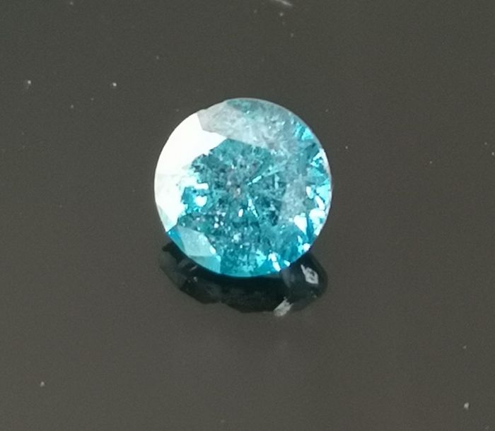 0.94 ct Diamond Vivid Blue SI2 ** no reserve price **