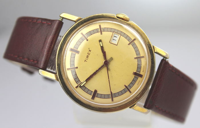 Timex - Made In Great Britain 7 Jewel 1960's Vintage - Heren - 1960-1969