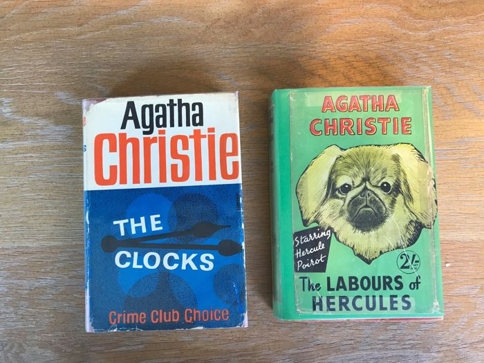 Agatha Christie - The Labours of Hercules + The Clocks - 1947/1963