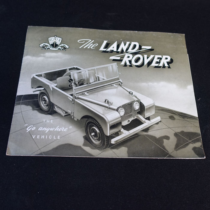 Brochures/ Catalogues - Landrover - 1950-1951 (2 items)