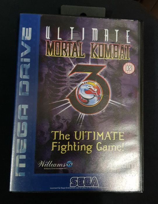 Ultimate Mortal Kombat 3 The Ultimate Fighting Game - Sega