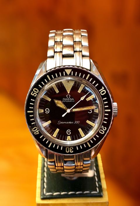"097d64b1f8651 Omega - Seamaster 300 ""Big Triangle"". Vintage. - 165.024 - Men ..."