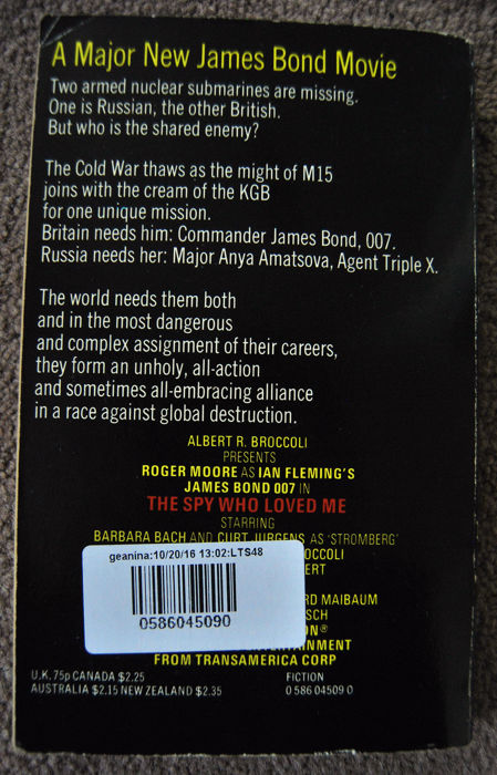 Ian Fleming - Thunderball (with another title) - 1961/1977