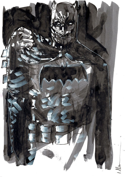 Dark Batman - Original Drawing - Ismael Alabado - First edition