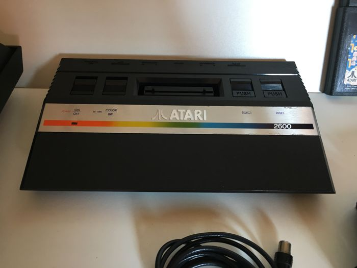 Atari 2600 Jr. With Pacman & Space Invaders