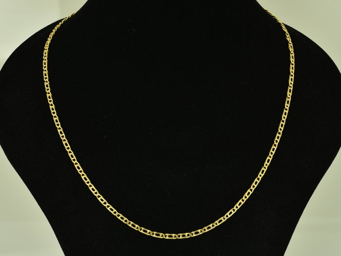 Gold 18 kt Necklace Length: 50 cm Weight 13.51 g