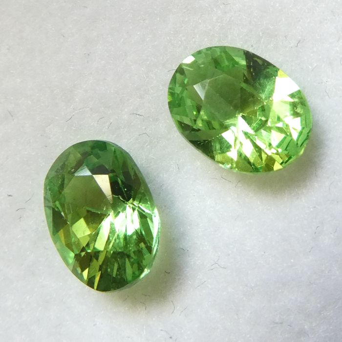 Tsavorite Pair – 2.18 ct total