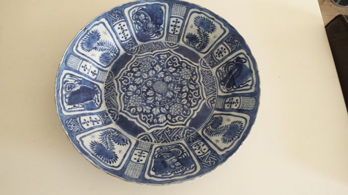 Very large Ming Wanli dish - Chinese - 16th/17th century