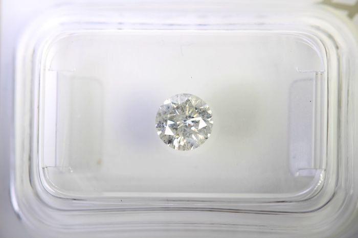 * NO RESERVE PRICE * - AIG Antwerp Diamant - 0.57 ct - G , I2