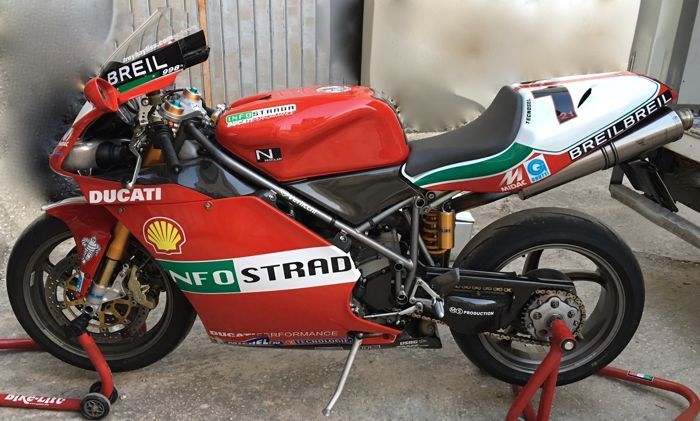 Ducati - 998 S F02 Troy Bayliss Replica  - 1000 cc - 2002