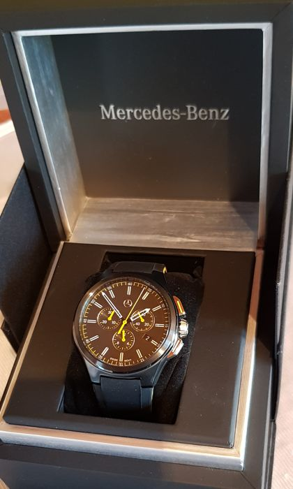 MERCEDES-BENZ Collection watch/box - Chronograph watch for men Made in Switzerland - 2014