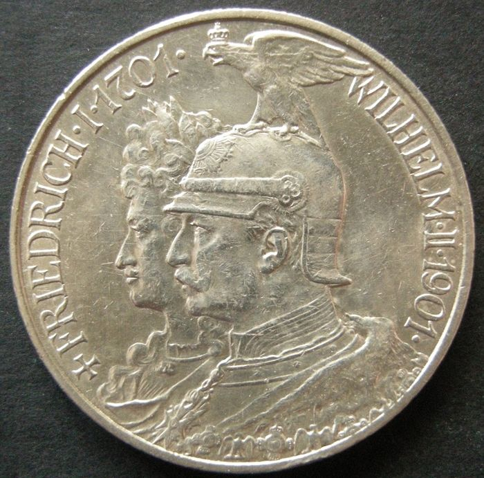 Germany - Prussia - 2 Mark 1901 A - Argento