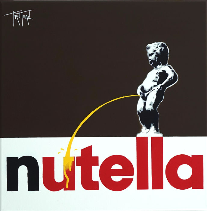 Truteau - The Manneken-Pis on Nutella