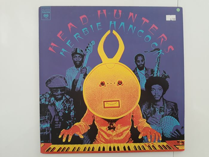 Nice collection of Herbie Hancock - 9 Albums.