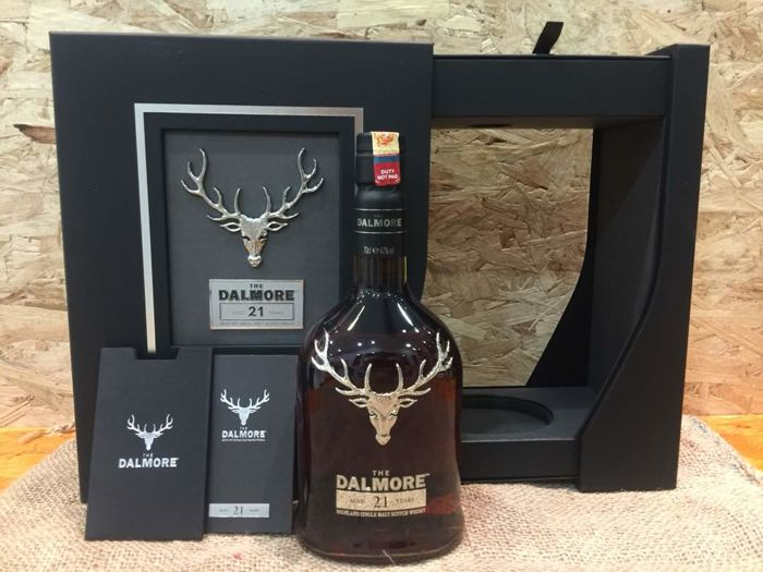 The Dalmore Aged 21 Years Highland Single Malt Scotch Whisky