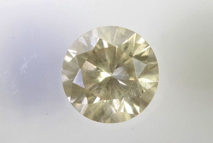 * NO RESERVE PRICE * - AIG Antwerp Diamond - 0.40 ct - J, I2