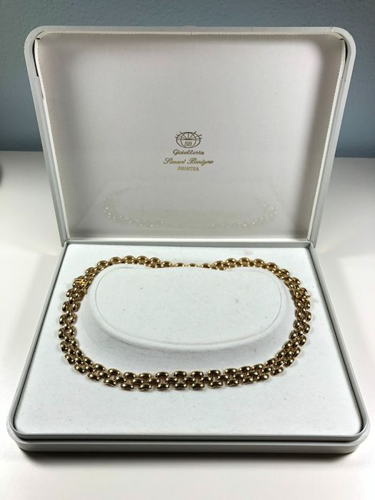 Chain for women in 18 kt gold